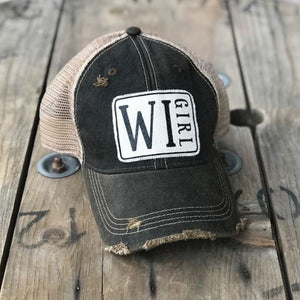 Wisconsin Girl Trucker Hat - Trucker Hat