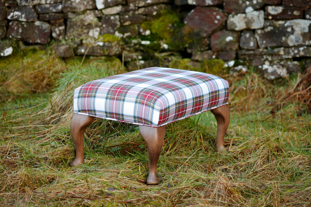 Authentic Clan Plaid Ottoman