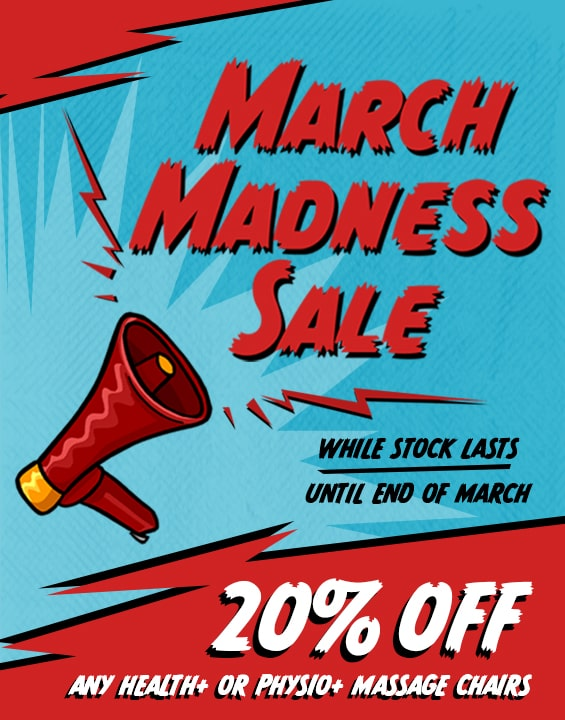March Madness Massage Chair Sale