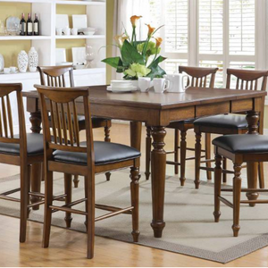 Burkhart 7-Piece Counter Height Dining Set