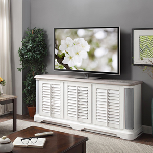 Caroline Media Console with Stereo Sound System