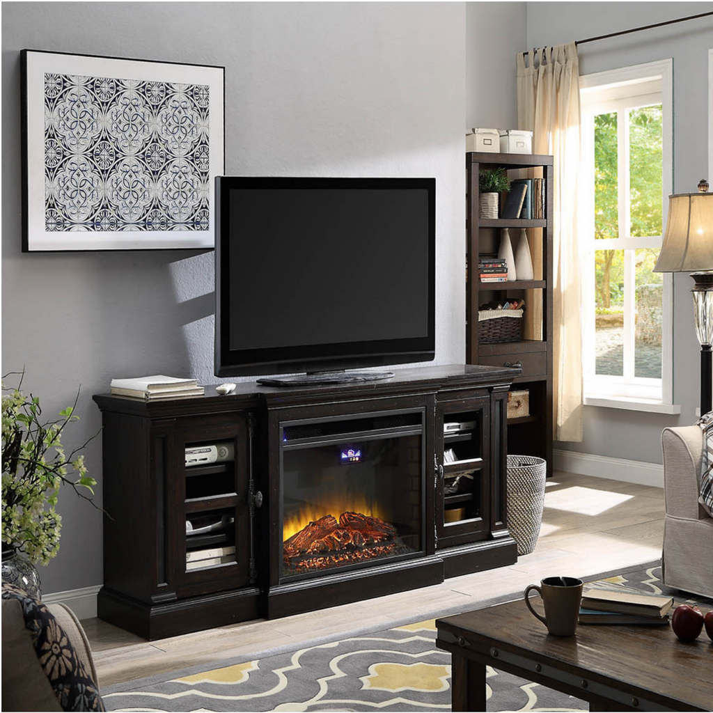 Emily Electric Fireplace And Media Console
