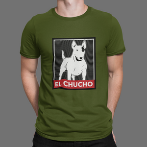 El Chucho, The dog, Palabras tipicas de El Salvador, Men's Fitted Short Sleeve Tee - SIVAR ESTILO