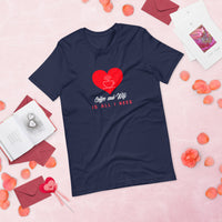 coffee and wifi is all I need, funny t-shirt, Valentine t-shirt, valentine gift, valentine's day - SIVAR ESTILO