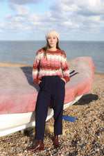 Anita is Vintage 80s Navy Tailored Trousers
