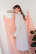 Anita is Vintage 60s White Long Sleeve Night Dress