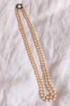 Anita is Vintage Double Pearl Necklace
