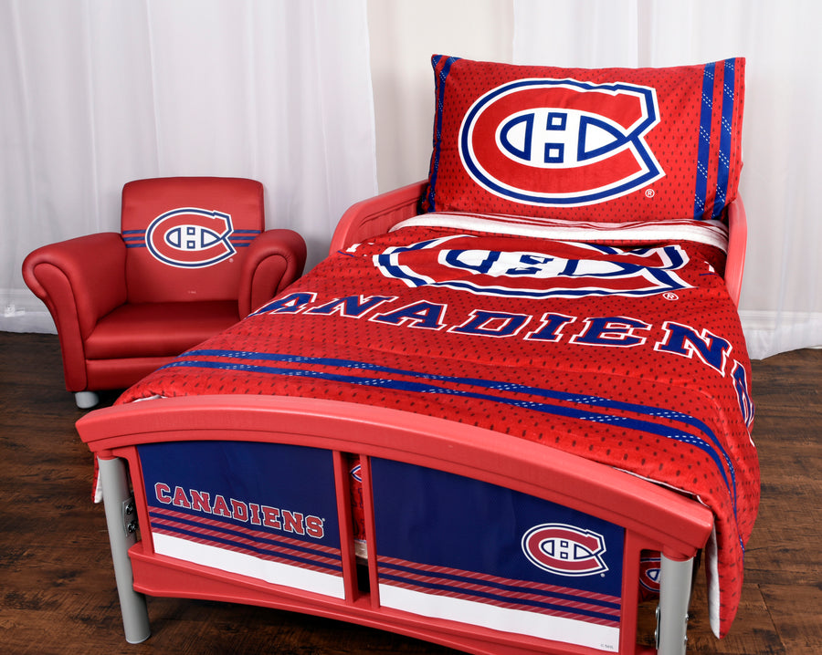 NHL Montreal Canadiens Toddler Bedding Set