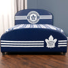 Twin NHL Toronto Maple Leafs Upholstered Bed