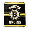 NHL Boston Bruins Velour High Pile Blanket