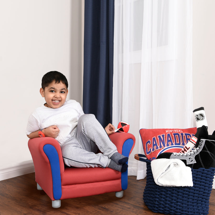 NHL Montreal Canadiens Children's Upholstered Chair