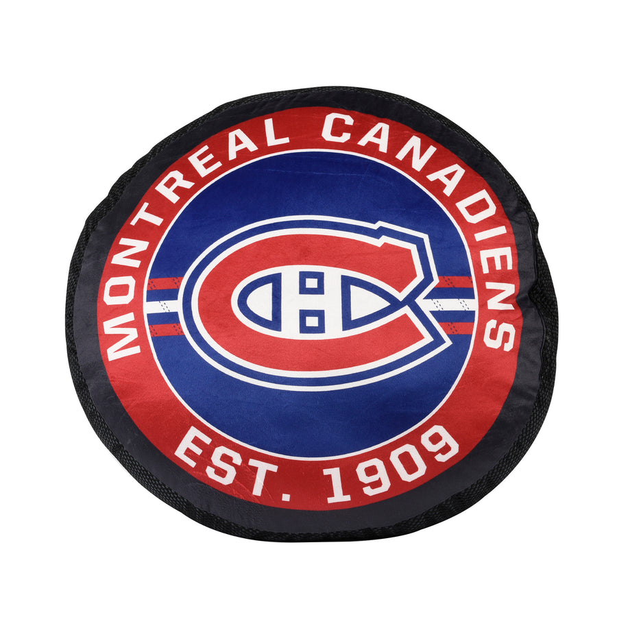 NHL Montreal Canadiens Puck Pillow