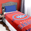 NHL Montreal Canadiens Velour High Pile Blanket