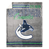NHL Vancouver Canucks Super Luxe / Sherpa Blanket