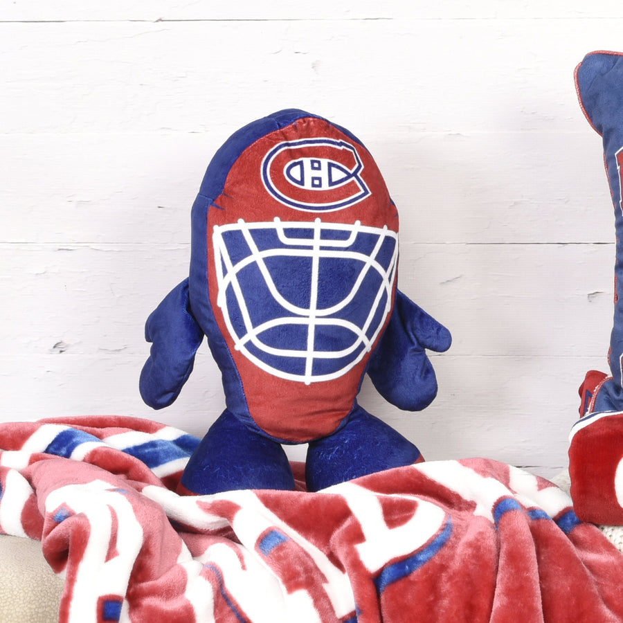 NHL Montreal Canadiens 3D Goalie Mask Pillow