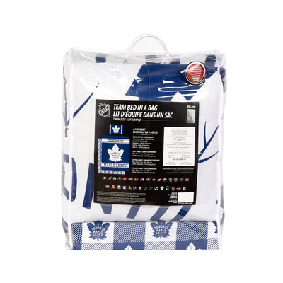 Toronto Maple Leafs Twin Bedding Set