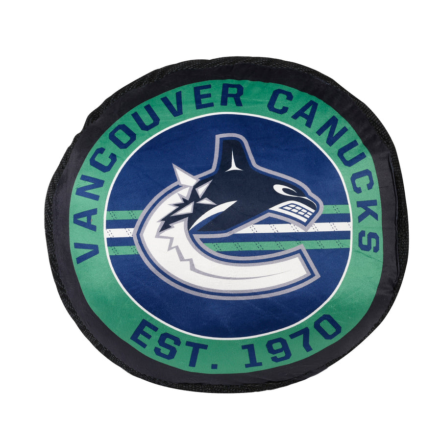 NHL Vancouver Canucks Puck Pillow