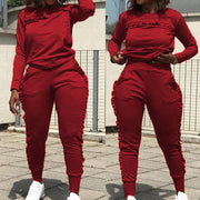 RoseyMacy 2020 Winter Women Outfits Two Pieces Outfits