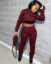 RoseyMacy 2020 Autumn Outfits 2020 Winter Women Sweatsuit