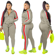 RoseyMacy Women Outfits Two pIeces Sweatsuits