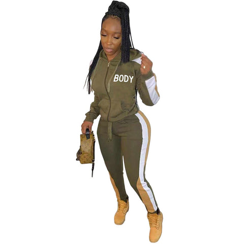 RoseyMacy Women Hoodies Outfits Women Two Pieces Sweatsuits