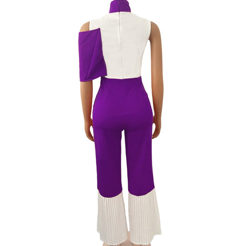 RoseyMacy Women Jumpsuits Patchwork Women Jumpsuits