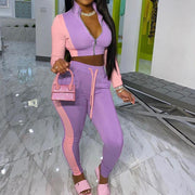 RoseyMacy 2020 Winter Women sweatsuit Two Pieces Outfits