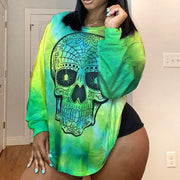 RoseyMacy 2020 Autumn Plus Size Women Long Sleeves T-shirt