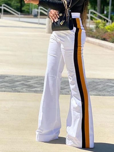 RoseyMacy 2020 Winter Women Pants Wide Leg Pants