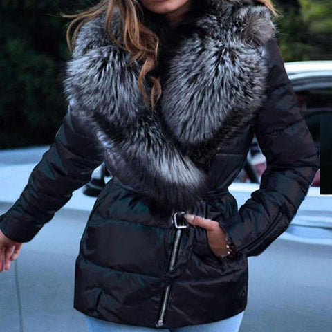 RoseyMacy women Outerwear Women Coat Furry Coat Women Jacket