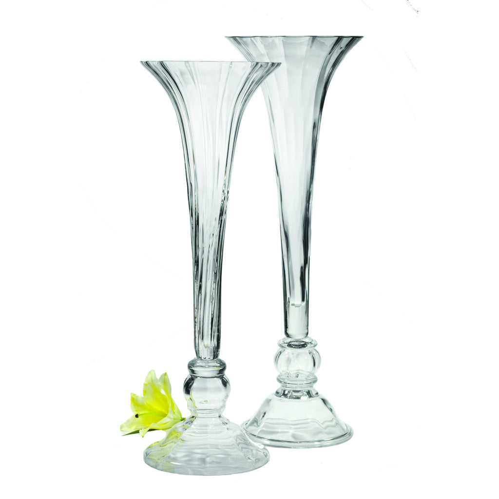 164138 Abigails Wholesale Home Décor Glassware Vases of Grand Scale Bordeaux Vase Classic