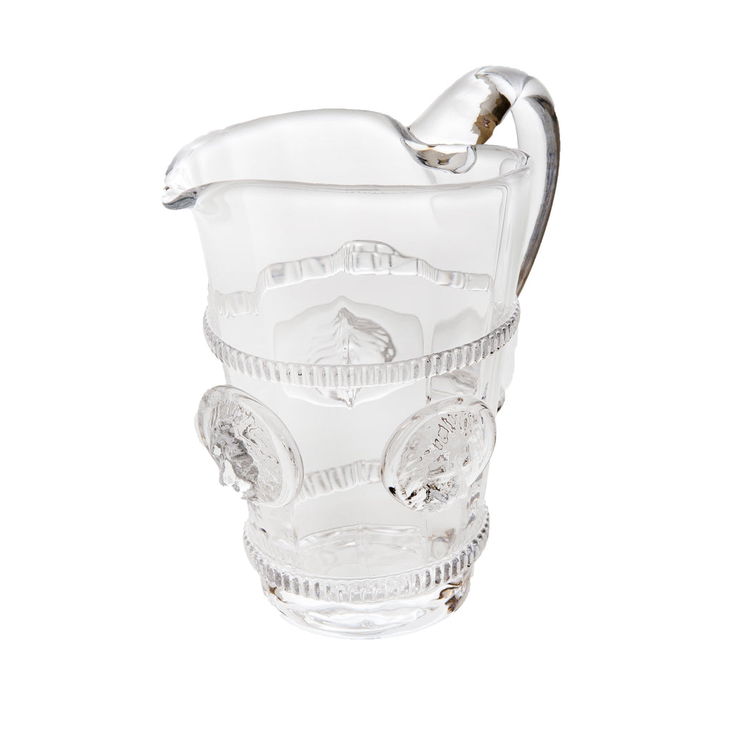 164522 Abigails Wholesale Tabletop Glassware Pitchers and Carafes Lionshead Pitcher Small Lionshead