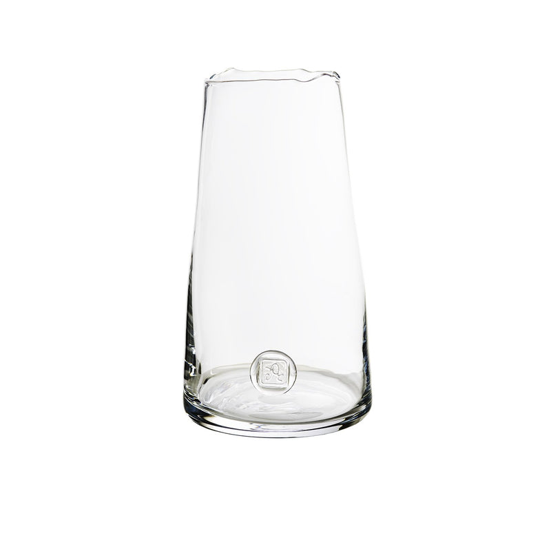 Medallion Vase, Clear