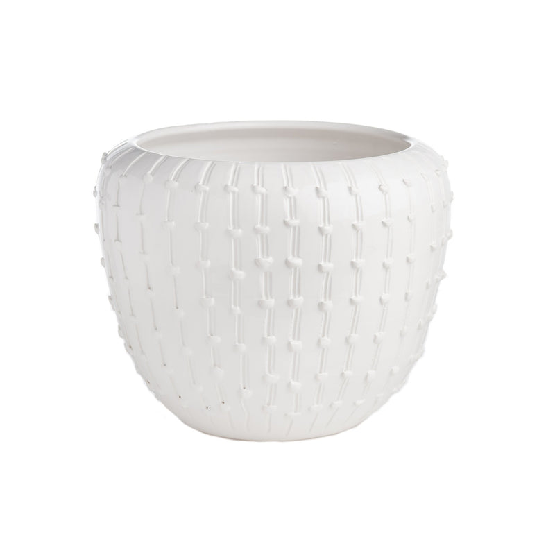260126 Abigails Wholesale Home Décor Ceramics and Terra Cotta Planters Bari White Bowl Bari