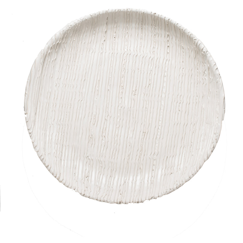 Alpine Plate, White