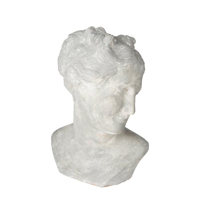 260167 Abigails Wholesale Home Décor Ceramics and Terra Cotta Accessories Pompeii Venus Bust Gray Pompeii