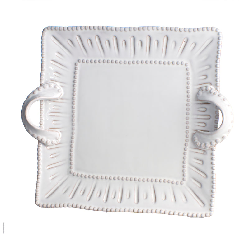 Charlot Platter, Cheese Tray, Square