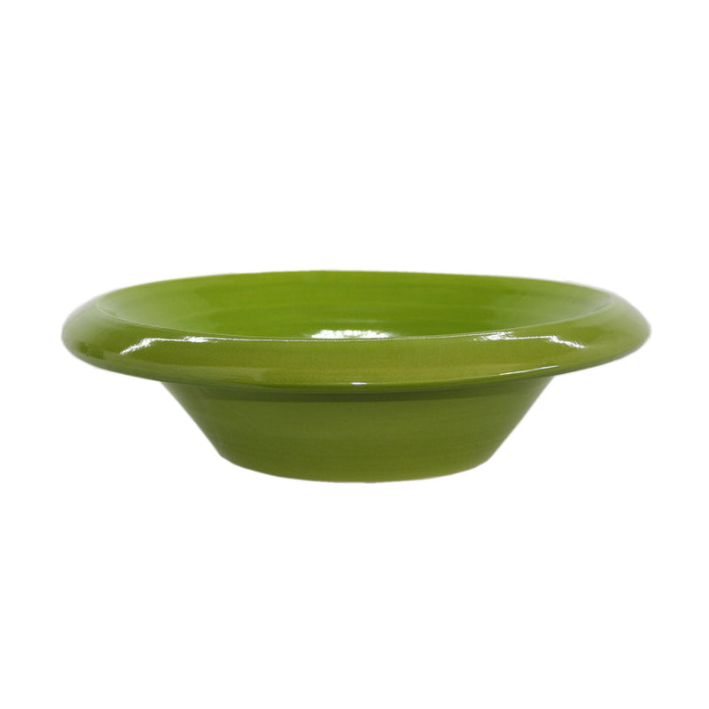 401731 Abigails Wholesale Tabletop Ceramics Bowls Cantina Ceramic Lime Green Bowl Cantina