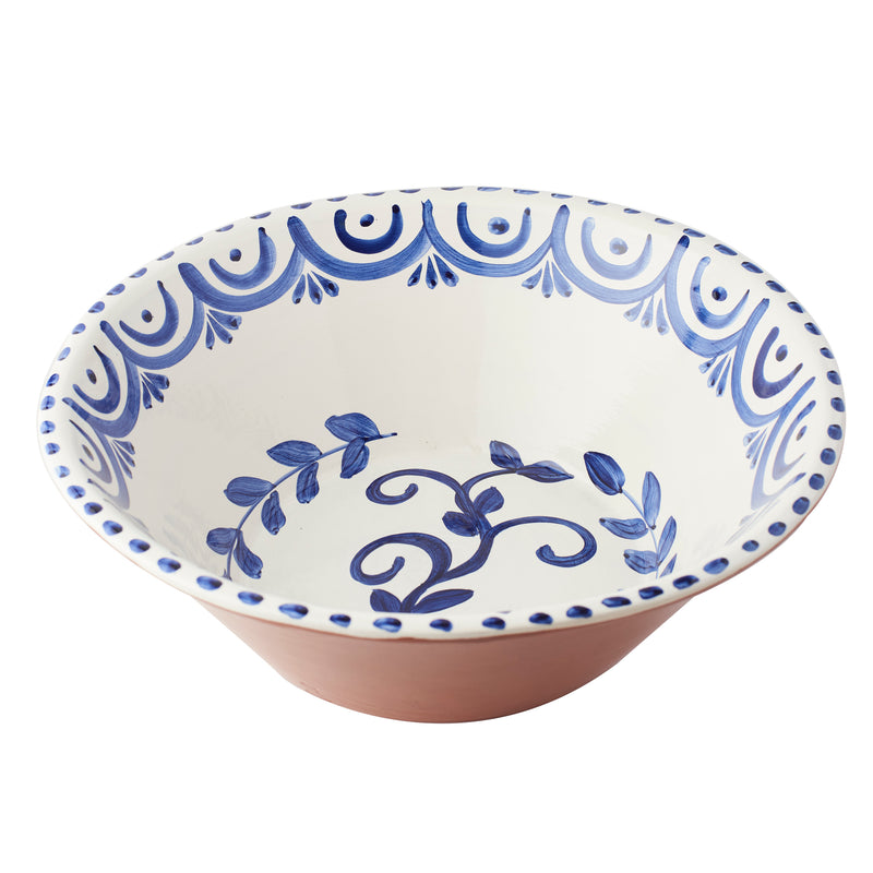 Casa Nuno Large Blue/White Bowl