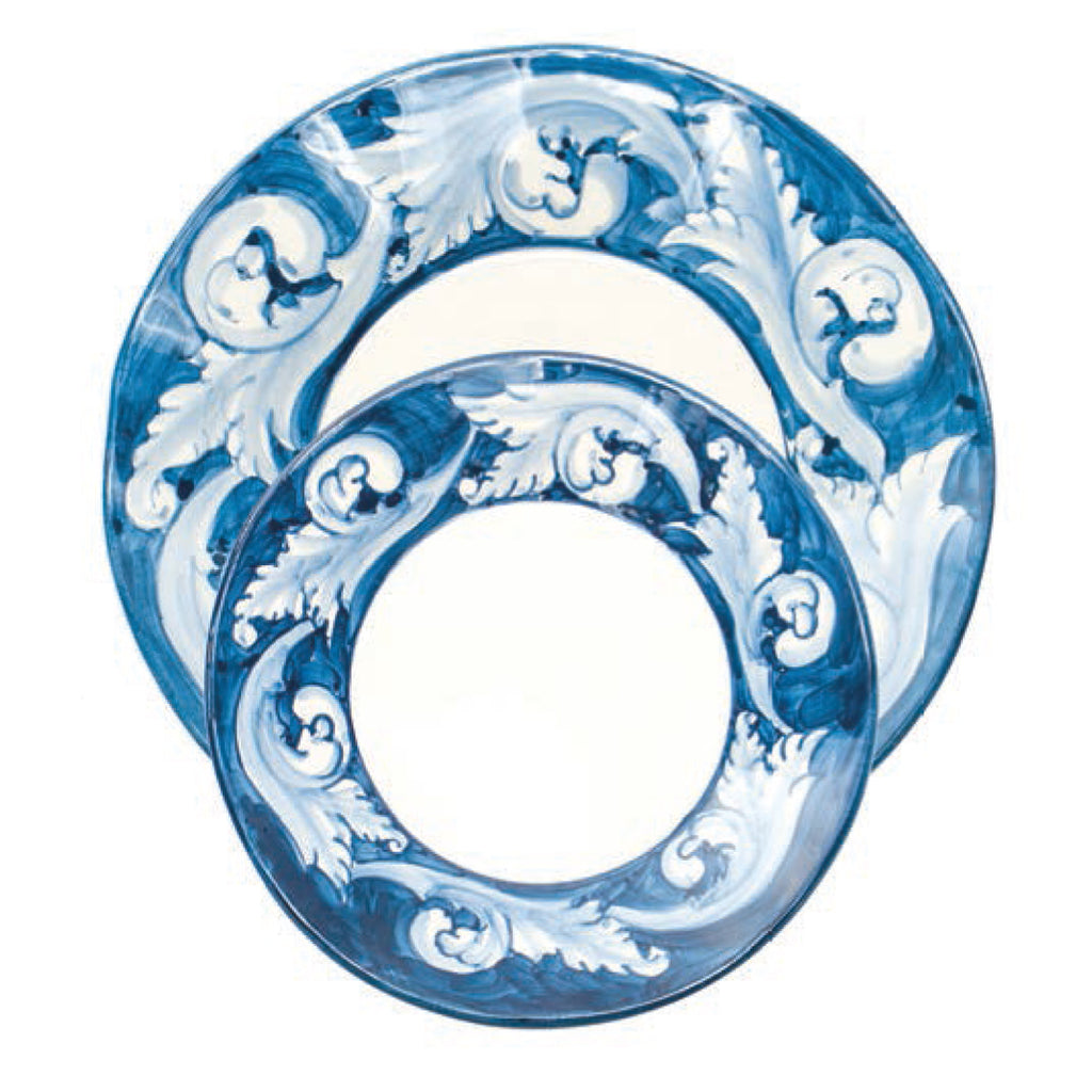 404002 Abigails Wholesale Tabletop Ceramics Dinnerware Elena Dinner Plate Set of 4