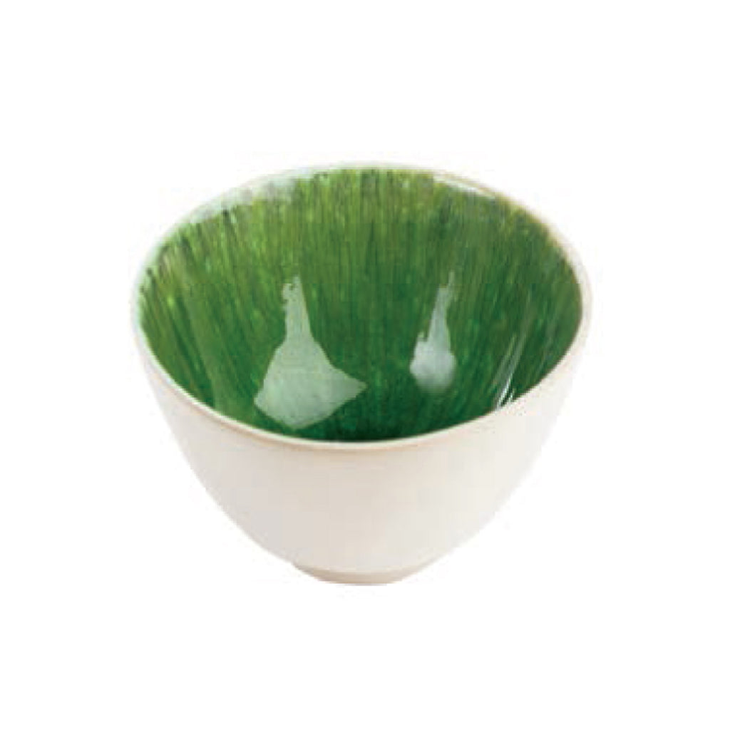 Bali Soup Bowl, Green, Set of 4