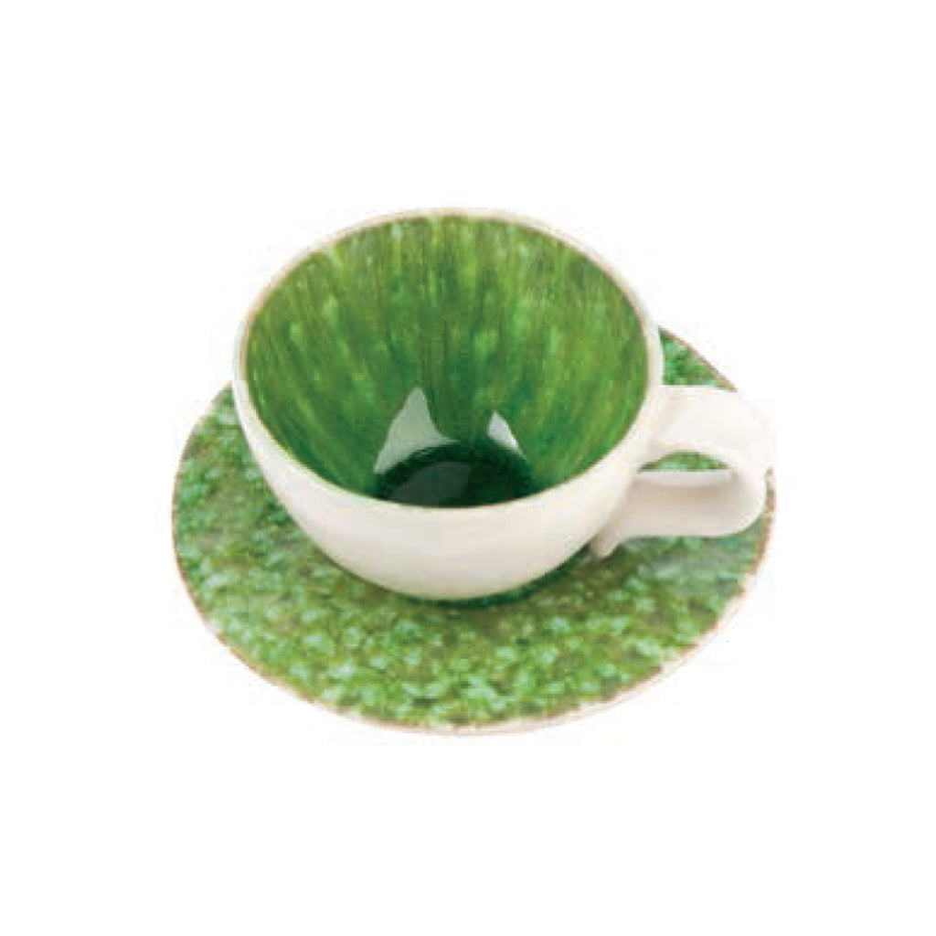 405004 Abigails Wholesale Tabletop Ceramics   Bali Teacup and Saucer Set Set of 4