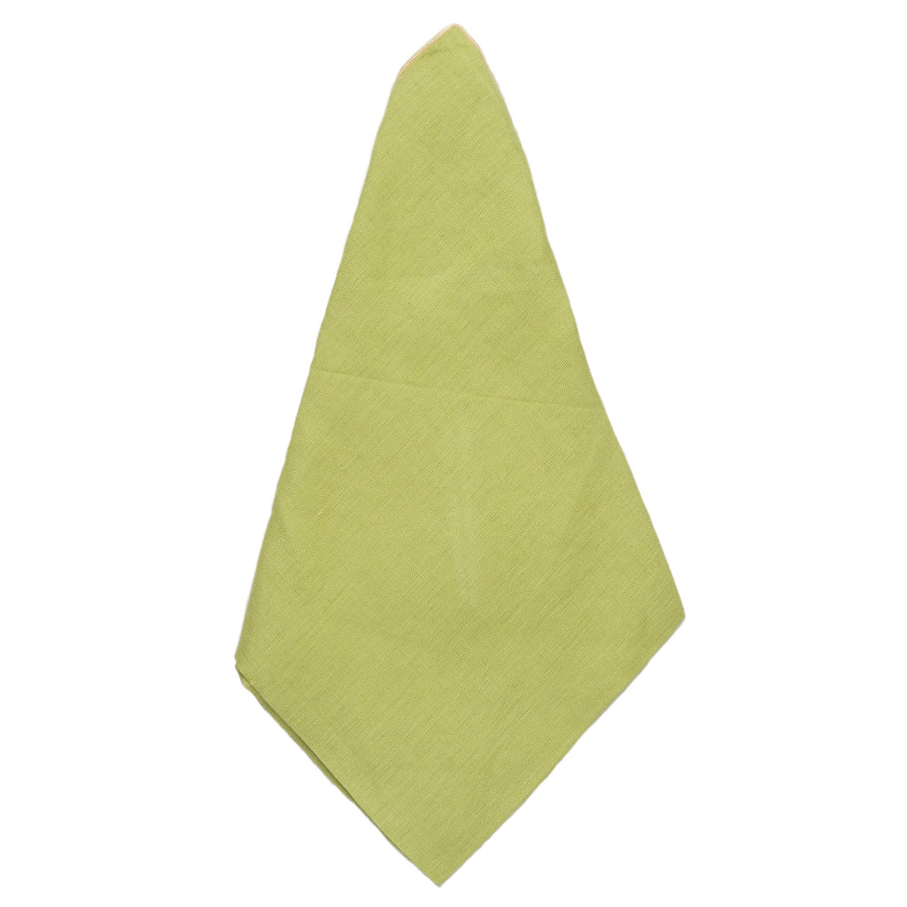 407400 Abigails Wholesale Textiles Napkins  Green Linen Napkin 20X20 Set of 4