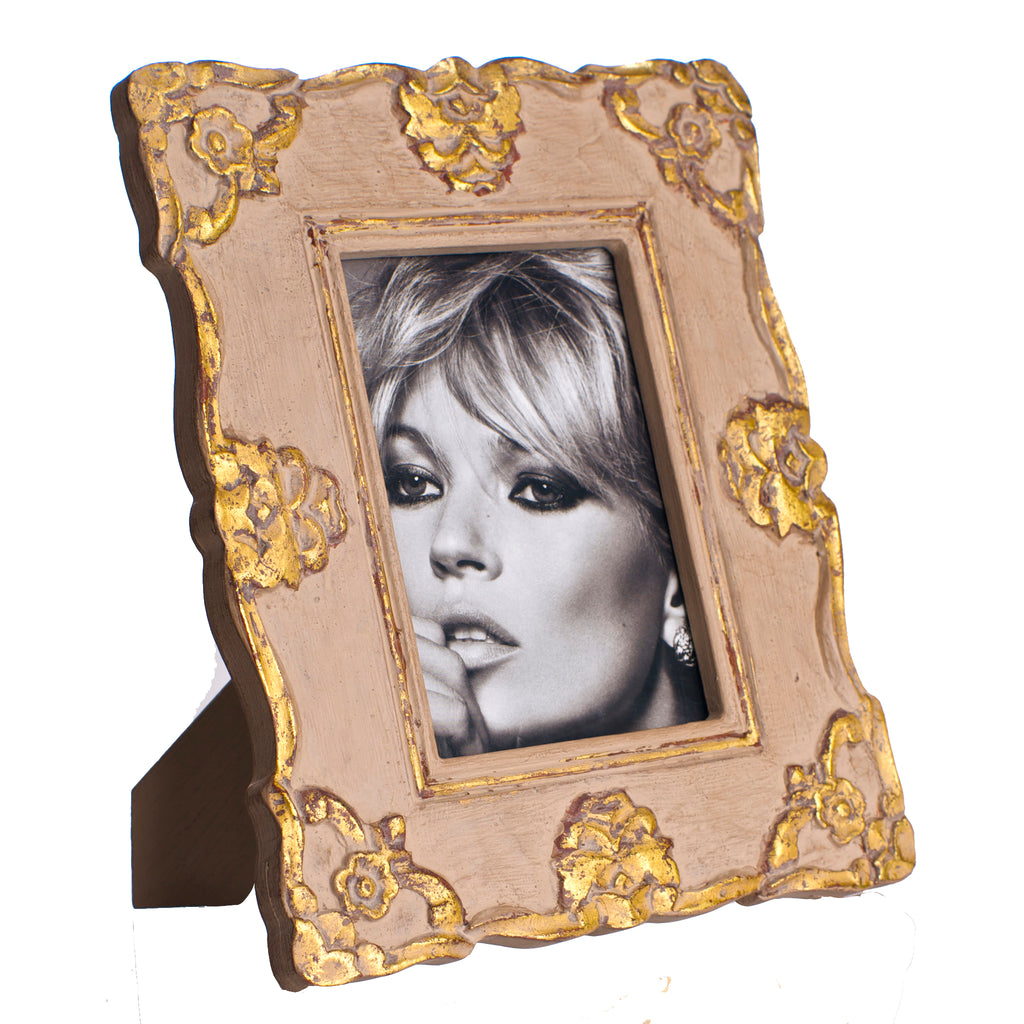 Vendome Frame, Gray and Gold