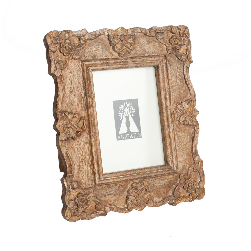 Provence Frame, Natural Wood Finish
