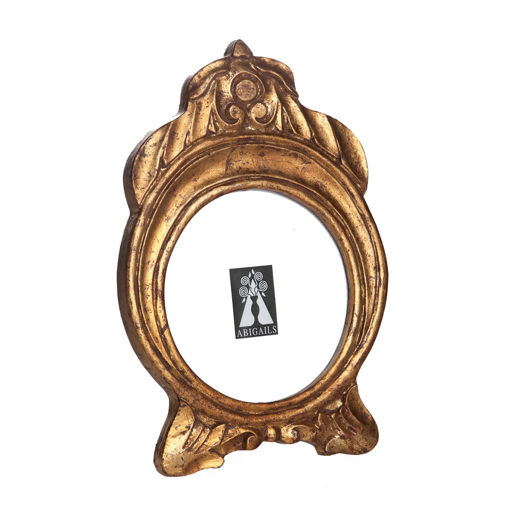 524830 Abigails Wholesale Home Décor Decorative Accessories Frames Vendome Frame Gold Leaf* Vendome