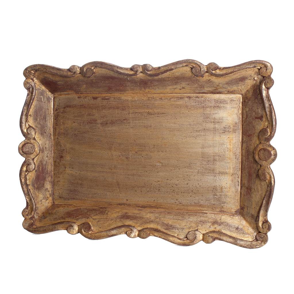 Vendome Tray, Scallop Edge