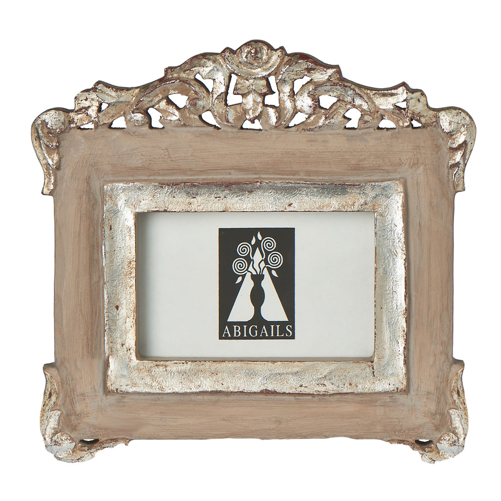Vendome Frame, Putty Grey/Silver