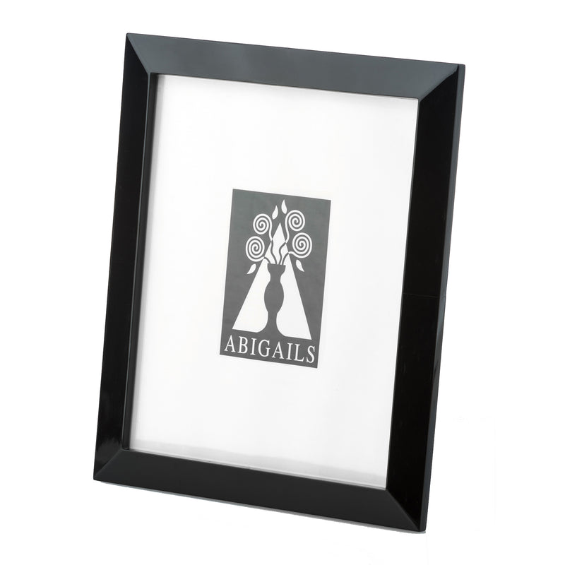 Frame, High Gloss Horn, Black, 8x10