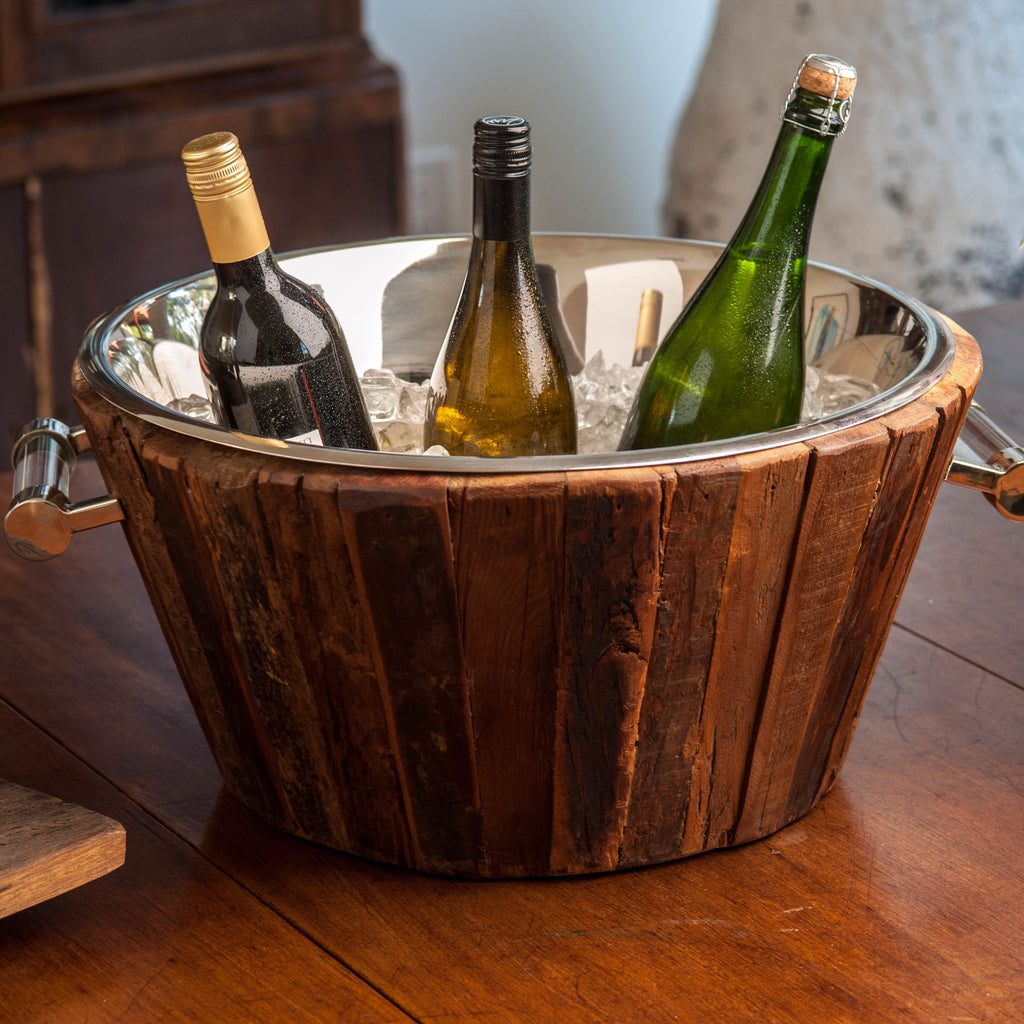 Chalet Wood Champagne Cooler